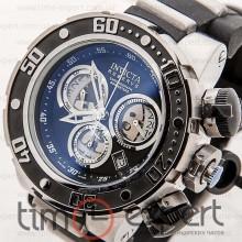 Invicta Chronograph Reserve Silver-Black