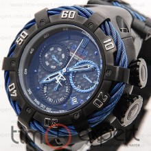 Invicta Chronograph Reserve Black-Blue