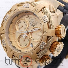 Invicta Chronograph Reserve Gold-Black