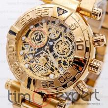 Invicta Chronograph Reserve Gold Bracelet