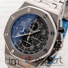 Audemars Piguet Royal Oak Chronograph Steel Silver-Gray-Black