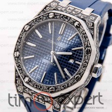 Audemars Piguet (Механика) Royal Oak Steel-Blue