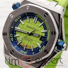 Audemars Piguet Royal Oak Offshore Diver Steel Green