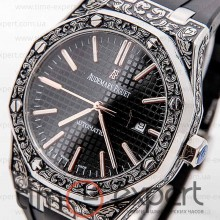 Audemars Piguet Royal Oak Silver Black