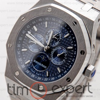 Audemars Piguet Royal Oak Perpetual Calendar Steel-Blue