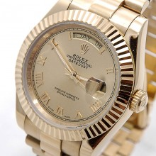 Rolex Day-Date 41 Yellow-Gold-Rim