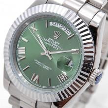 Rolex Day-Date 41 Steel-Green
