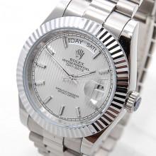 Rolex Day-Date 41 Steel-Silver