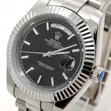 Rolex Day-Date 41 Steel-Black