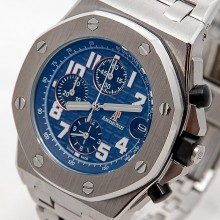 Audemars Piguet Royal Oak Chronograph Silver-Blue