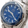 Omega Seamaster Co-Axial Steel-Blue-Bracelet