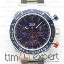 Rolex Cosmograph Daytona Blue/Red Pushers Blue dial