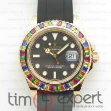 Rolex Yacht-Master 40 Diamond Black/Rubber Swiss ETA 2836