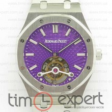 Audemars Piguet Royal Oak 41mm Tourbillon Best Edition Purple Dial