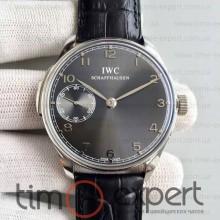 Iwc Schaffhausen Steel-Black-Gray