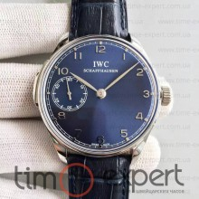 Iwc Schaffhausen Steel-Blue-Black