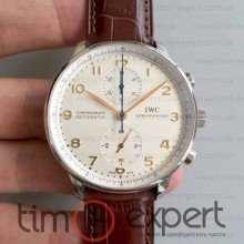 Iwc Portuguese Brown-Write Chronograph