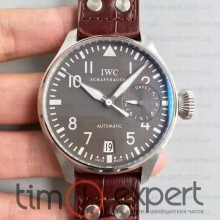 Iwc Big Pilot 1:1 Steel-Gray-Brown