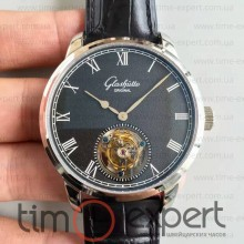 Glashutte Original Senator Meissen Tourbillon Steel-Black