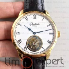 Glashutte Original Senator Meissen Tourbillon Write-Gold
