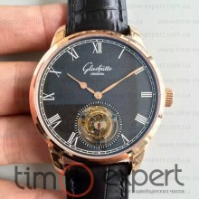 Glashutte Original Senator Meissen Tourbillon Rose-Gold-Black