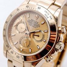 Rolex Cosmograph Daytona Gold 7750