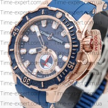 Ulysse Nardin Maxi Marine Deep Dive Gold-Blue