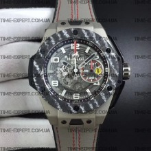Hublot Big Bang Ferrari Unico Titanium Carbon Grey