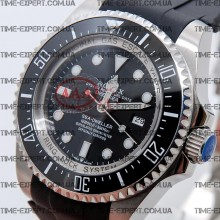 Rolex Deepsea Sea-Dweller Black  Rubber Strap
