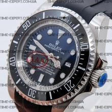 Rolex Deepsea Sea-Dweller Black-Blue Rubber Strap