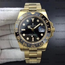 Rolex GMT-MASTER II All Yellow-Gold-Black