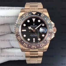 Rolex GMT-MASTER II All Rose-Gold-Black