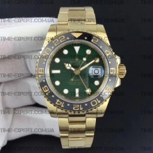 Rolex GMT-MASTER II All Yellow-Gold-Green