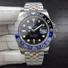 Rolex GMT-MASTER II Black-Blue Jubilee