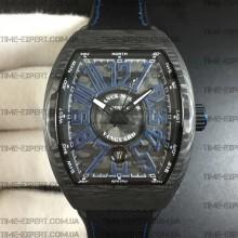 Franck Muller Vanguard Carbon Blue Line