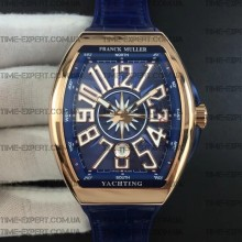 Franck Muller Vanguard Blue-Gold