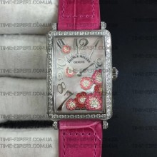 Franck Muller Long Island Ladies Pink