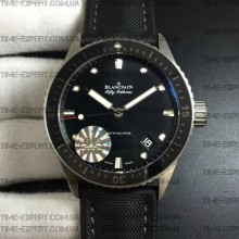 Blancpain Fifty Fathoms Bathyscaphe Black Steel