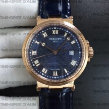 Breguet Marine 5517 Rose Gold Blue