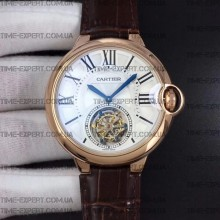 Cartier Rotonde Flying Tourbillon Rose Gold