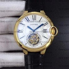 Cartier Rotonde Flying Tourbillon Yellow Gold