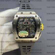 Richard Mille RM011-03 Chronograph Gray Racing Rubber