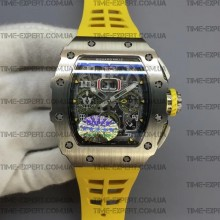 Richard Mille RM011-03 Chronograph Yellow Racing Rubber