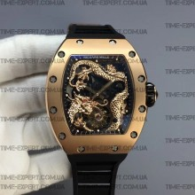 Richard Mille RM057 Tourbillon Dragon Gold-Black