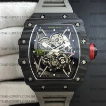 Richard Mille RM035-02 Rafael Nadal Forge Carbon Gray Rubber