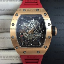 Richard Mille RM035-02 Americas Red Rubber