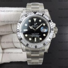 Rolex Submariner White Diamonds
