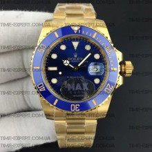 Rolex Submariner 116618LB Gold Blue