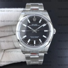 Rolex Oyster Perpetual Black 39mm 114300