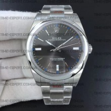 Rolex Oyster Perpetual Gray 39mm 114300